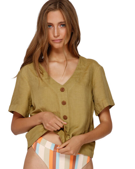 CEDAR WOMENS CLOTHING BILLABONG FASHION TOPS - BB-6591102-CE1