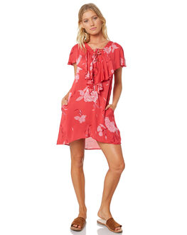 APPLE RED WOMENS CLOTHING RUSTY DRESSES - DRL0918ARE