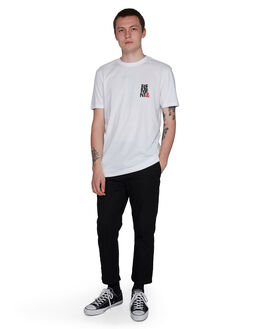 WHITE MENS CLOTHING ELEMENT TEES - EL-107020-WHT