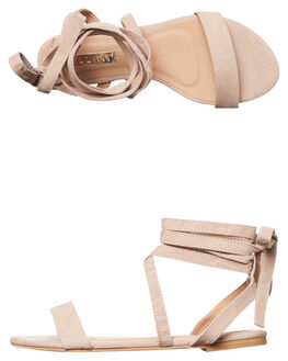 BLUSH SUEDE WOMENS FOOTWEAR BILLINI FASHION SANDALS - S499BLHSD