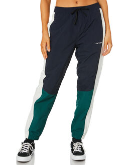 NAVY MERLOT WAX WOMENS CLOTHING CARHARTT PANTS - I0271331C90
