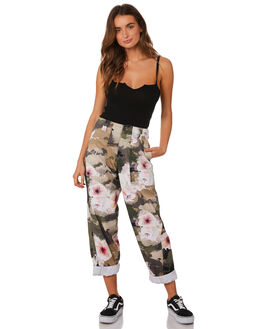 CAMO FLORAL WOMENS CLOTHING RUSTY PANTS - PAL1114CAF