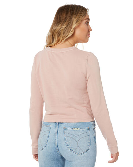 PINK WOMENS CLOTHING SILENT THEORY JUMPERS - 6043010PNK