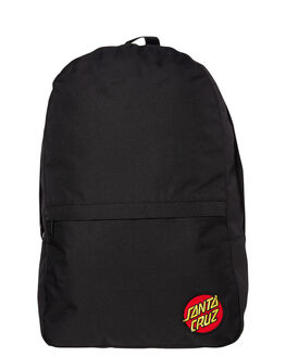 BLACK MENS ACCESSORIES SANTA CRUZ BAGS + BACKPACKS - SC-MAC9302BLK