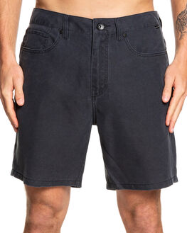 BLACK MENS CLOTHING QUIKSILVER SHORTS - EQYWS03590-KVJ0