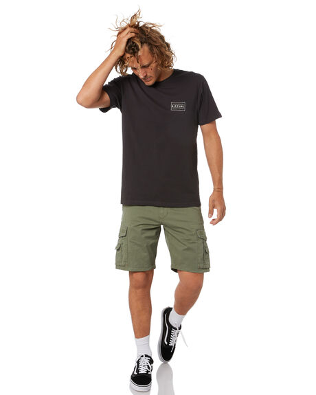 MID GREEN MENS CLOTHING RIP CURL SHORTS - CWABU99436