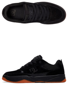 BLACK/GUM MENS FOOTWEAR DC SHOES SNEAKERS - ADYS100509-BGM