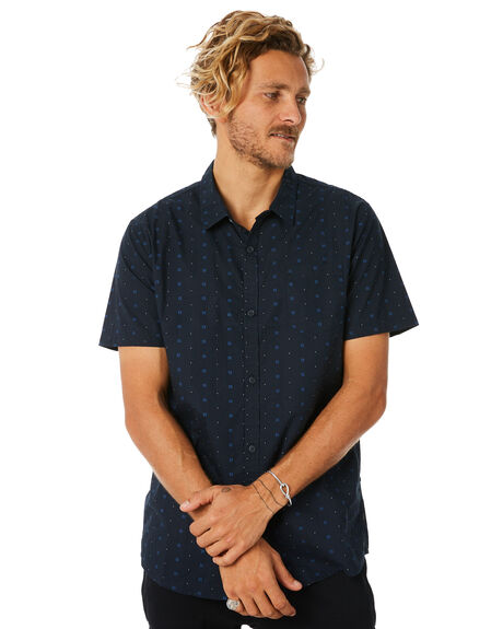 NAVY MENS CLOTHING SWELL SHIRTS - S5184182NAVY