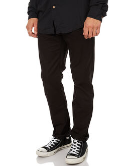 BLACK MENS CLOTHING VOLCOM PANTS - A1111703BLK