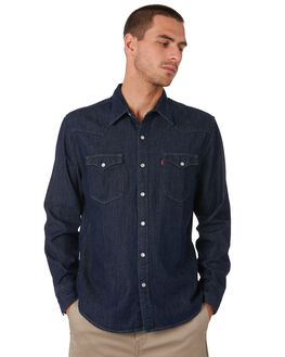 RED CAST RINSE MENS CLOTHING LEVI'S SHIRTS - 65816-0115RCR