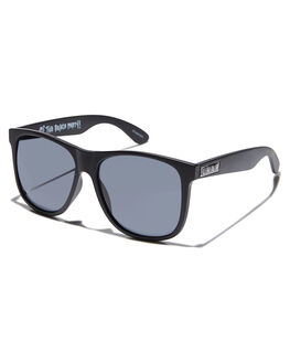 GLOSS BLACK UNISEX ADULTS CRAP SUNGLASSES - 161B05PGGLBLK