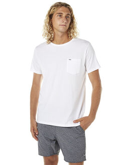 WHITE MENS CLOTHING RIP CURL TEES - CTETY11000