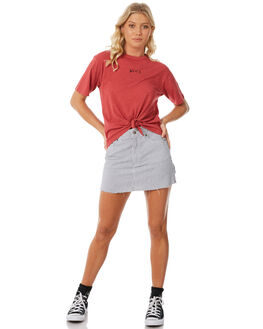 GARNET WOMENS CLOTHING RVCA TEES - R281694GAR