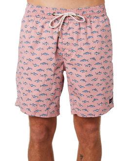 PINK SHARK MENS CLOTHING BARNEY COOLS BOARDSHORTS - 806-CC3PNKSH