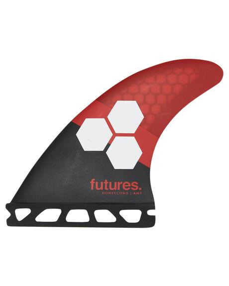 RED BLACK BOARDSPORTS SURF FUTURE FINS FINS - 1115-157-00REDBK