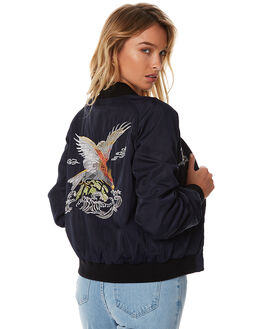 INK WOMENS CLOTHING WRANGLER JACKETS - W-950734-439INK