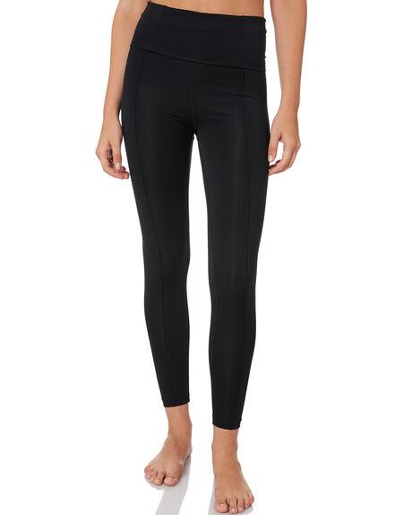 BLACK WOMENS CLOTHING HURLEY ACTIVEWEAR - CJ6337010
