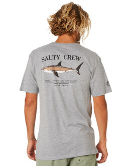 ATHLETIC HEATHER MENS CLOTHING SALTY CREW TEES - 20035067ATHHR