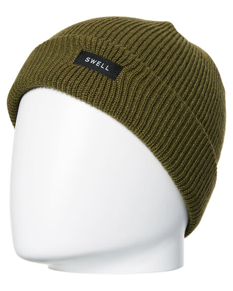 GRY MARLE OLIVE BURG MENS ACCESSORIES SWELL HEADWEAR - S51841761MUL