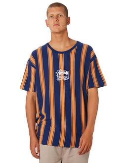 NAVY MENS CLOTHING STUSSY TEES - ST096107NVY