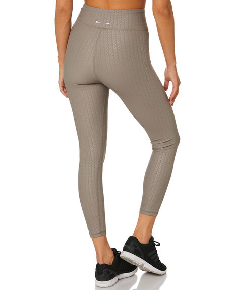 BROWN WOMENS CLOTHING THE UPSIDE ACTIVEWEAR - USW420011BRN