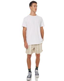 LIGHT TAN MENS CLOTHING STUSSY SHORTS - ST072605LTAN