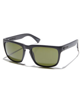 MATTE BLACK GREY MENS ACCESSORIES ELECTRIC SUNGLASSES - EE09001020MBKGR