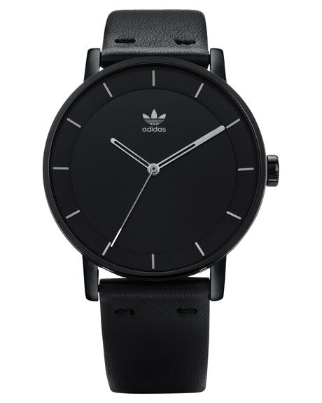 ALL BLACK SILVER MENS ACCESSORIES ADIDAS WATCHES - Z08-2345-00ABLKS