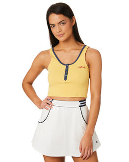 MELLOW WOMENS CLOTHING AFENDS SINGLETS - W184089MELL