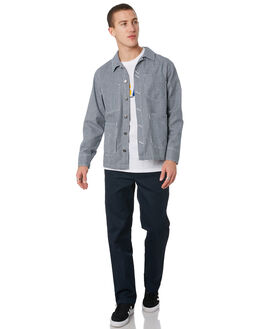 HICKORY STRIPE MENS CLOTHING DICKIES JACKETS - K3190601HS