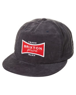 NAVY RED MENS ACCESSORIES BRIXTON HEADWEAR - 00432NVRD