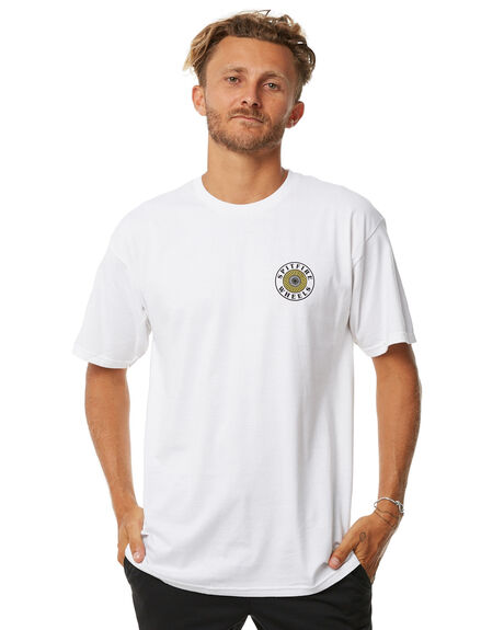 WHITE MENS CLOTHING SPITFIRE TEES - OGCIRCWHT