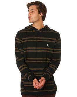 BLACK MENS CLOTHING VOLCOM TEES - A0331902BLK