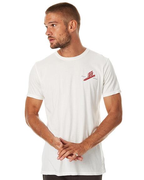 VINTAGE WHITE MENS CLOTHING KATIN TEES - TSMESH16VWHT