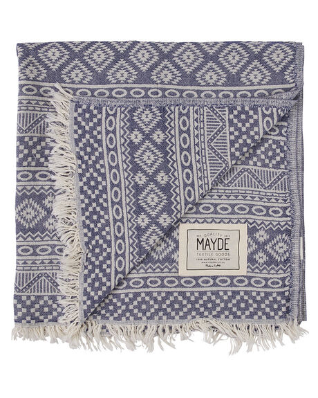 NAVY WOMENS ACCESSORIES MAYDE TOWELS - 17CABANVYNVY
