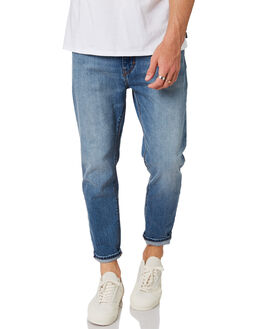 AMSTDM BLUE MENS CLOTHING A.BRAND JEANS - 813084519