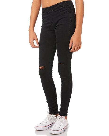 BLACK KIDS GIRLS EVES SISTER PANTS - 9530050BLK