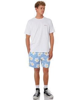 BLUE DAISY MENS CLOTHING BARNEY COOLS BOARDSHORTS - 806-CC4BLUDA