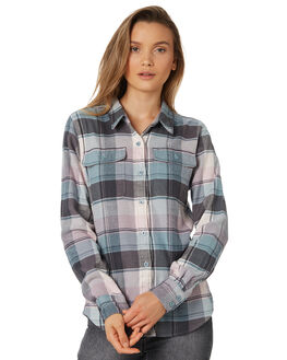 SPECTRA CADET BLUE WOMENS CLOTHING PATAGONIA FASHION TOPS - 53916SACB