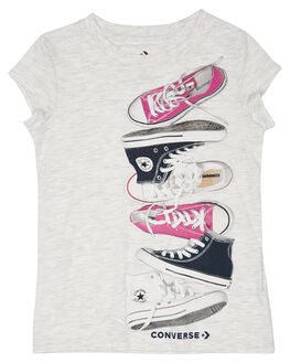 BIRCH HEATHER KIDS GIRLS CONVERSE TOPS - R368107X58
