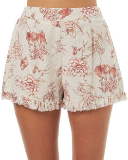 MULTI WOMENS CLOTHING SOMEDAYS LOVIN SHORTS - SL1706431MULTI