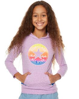 FUCHSIA GLOW SNOW KIDS GIRLS CONVERSE JUMPERS - R466283P2K
