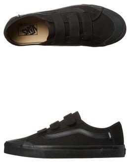 BLACK BLACK MENS FOOTWEAR VANS SNEAKERS - VN-0XSZBKABLK