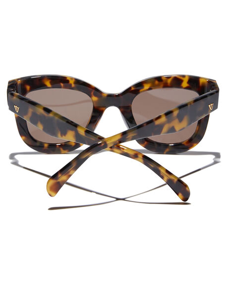 YELLOW GREY TORT WOMENS ACCESSORIES VALLEY SUNGLASSES - S0352YGTRT