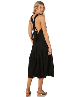 BLACK WOMENS CLOTHING RUE STIIC DRESSES - RWS-19-06-1BLK