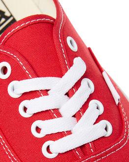 RED MENS FOOTWEAR VANS SKATE SHOES - SSVN-0EE3REDM