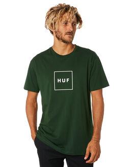 DEEP JUNGLE MENS CLOTHING HUF TEES - TS00507-DPJNG