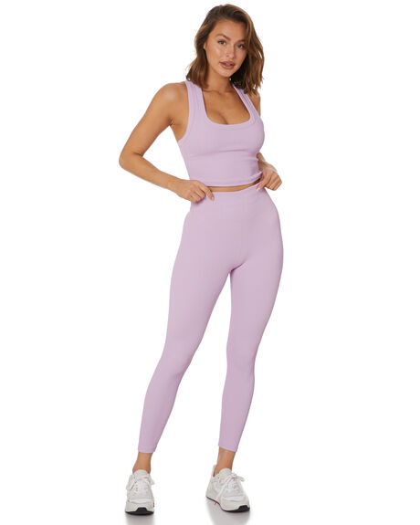 PURPLE WOMENS CLOTHING THE UPSIDE ACTIVEWEAR - USW221105PUR