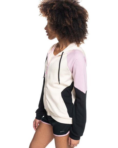 TAPIOCA WOMENS CLOTHING ROXY HOODIES + SWEATS - ERJFT04459-TEH0