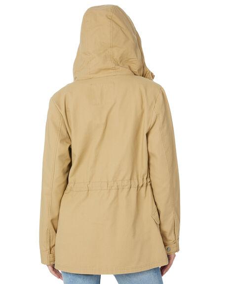 TAN WOMENS CLOTHING SWELL JACKETS - S8183383TAN